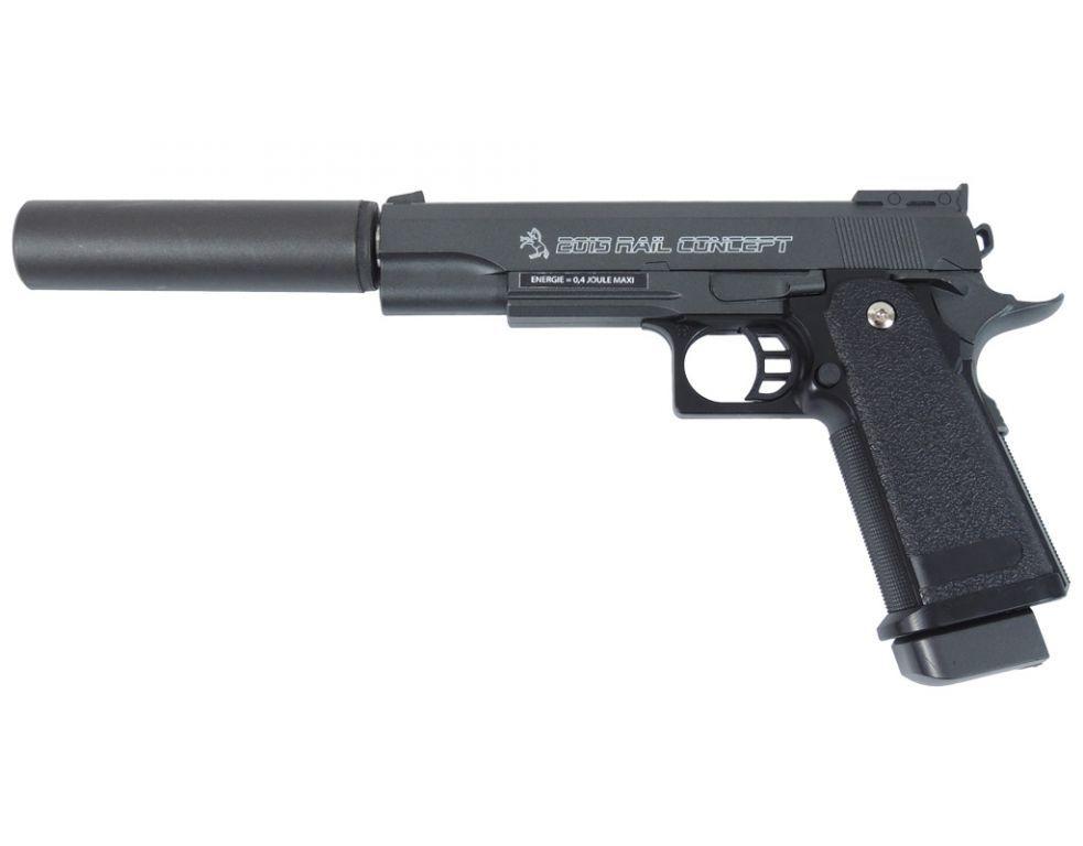 COLT Mod 1911 Rail Gun 5 22lr mSchiene  Triebel