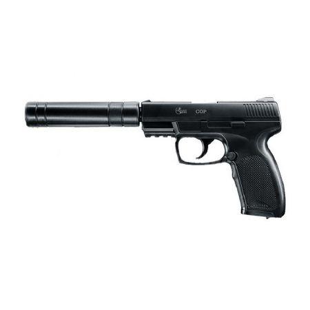 Pistolet Combat Zone COP SK Co2 (2 Joules) + Silencieux - 25958