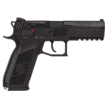 Pistolet CZ P09 P-09 Noir GBB Gaz Blowback - Culasse Metal - 17657