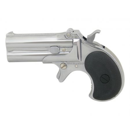 Pistolet Derringer Marushin Gaz Silver (Chromé) - Full Metal - 16915