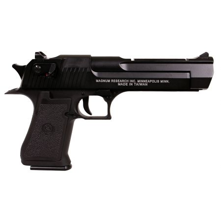 Pistolet Desert Eagle 50AE Co2 GBB Blowback Metal - Noir - 090502