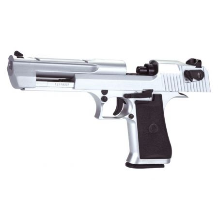 Pistolet Desert Eagle 50AE CO2 Silver - Metal & Blowback - KCB-51ACIH
