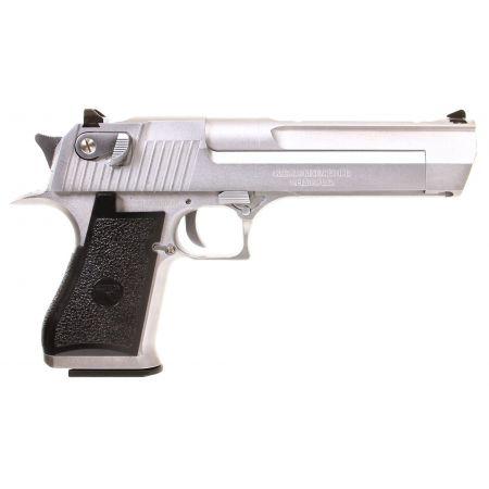 Pistolet Desert Eagle 50AE GBB Gaz Cybergun WE Silver - 090510