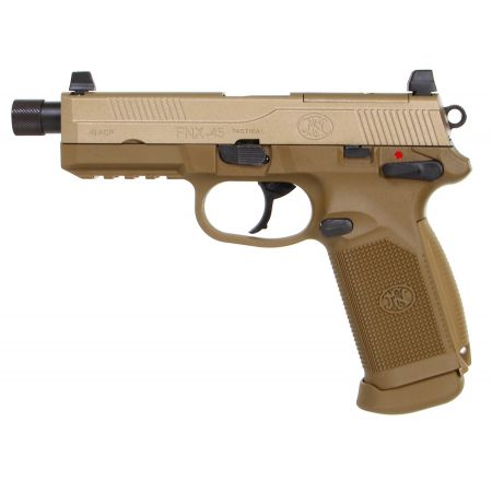 Pistolet FN Herstal FNX-45 Tactical Gaz GBB Blowback TAN - 200503