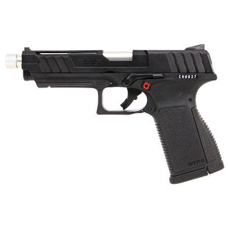Pistolet G&G GTP 9 Gaz GBB Blowback - Guay Guay - Noir