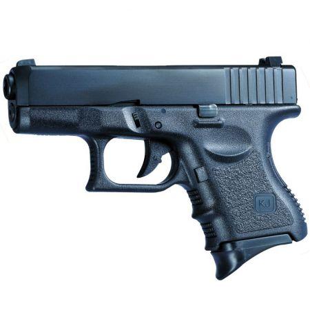 Pistolet G27 G26 Gaz GBB KJ Works Noir - Blowback - KJ27