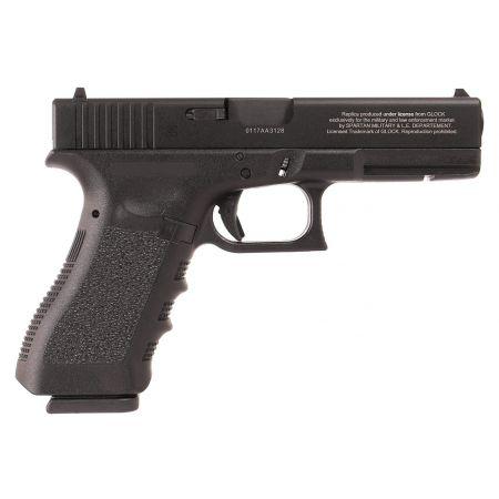 Pistolet Glock 17 G17 Gen 3 Gaz GBB Inokatsu Military CNC Noir 340539