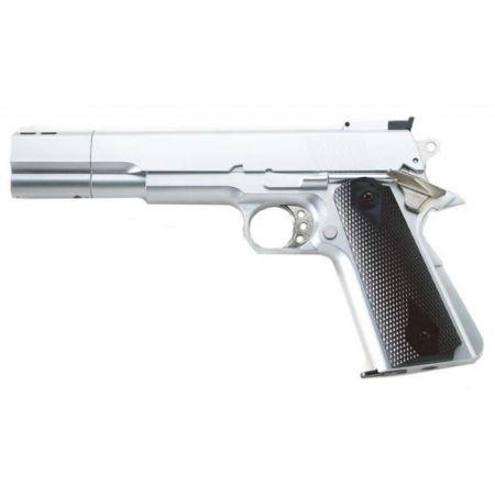Pistolet HFC 1911 Long Gaz NBB Silver - PA-GAZ-2510