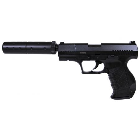 Pistolet HFC P99 Spring Noir + Silencieux - PA-SP-2018