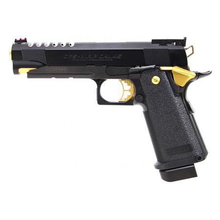 Pistolet Hi-CAPA 5.1 Gold Match Gaz GBB Blowback - Tokyo Marui