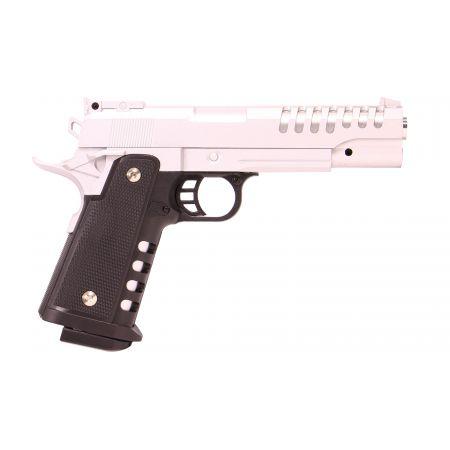 Pistolet HI CAPA Spring Full Metal PLan Beta - Silver