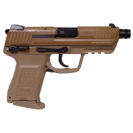 Pistolet HK HK45 CT Compact Tactical Gaz Blowback GBB Umarex Tan 26336