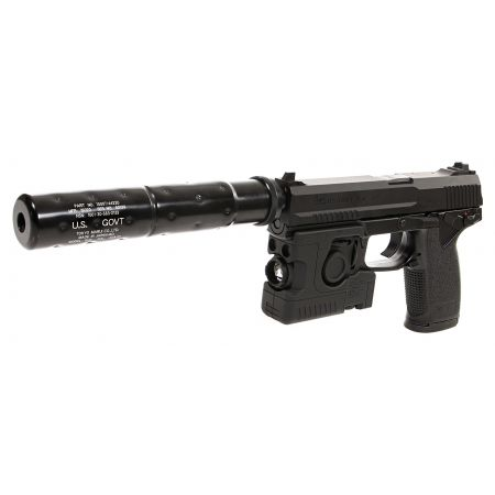 Pistolet HK MK23 SOCOM US-Govt. Gaz Noir - Tokyo Marui