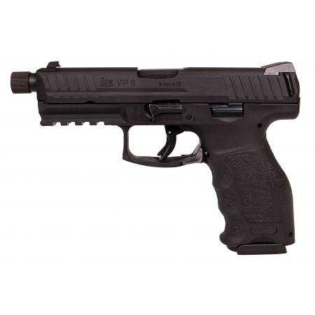 Pistolet HK VP9 Tactical GBB Gaz Blowback - VFC Umarex - Noir - 26366