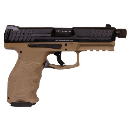 Pistolet HK VP9 Tactical GBB Gaz Blowback - VFC Umarex - Tan - 26368