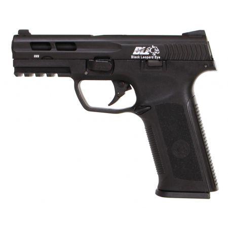 Pistolet ICS BLE Black Leopard Eye XAE SB GBB Gaz Blowback Noir - 18955