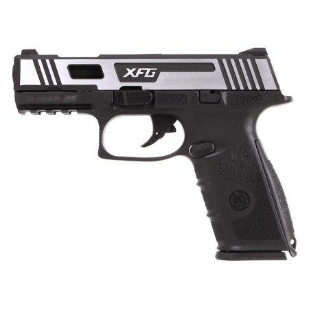 Pistolet ICS BLE XFG Black Leopard Eye GBB Gaz Blowback Hairline - 19264