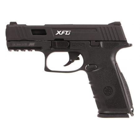 Pistolet ICS BLE XFG Black Leopard Eye GBB Gaz Blowback Noir - 19262