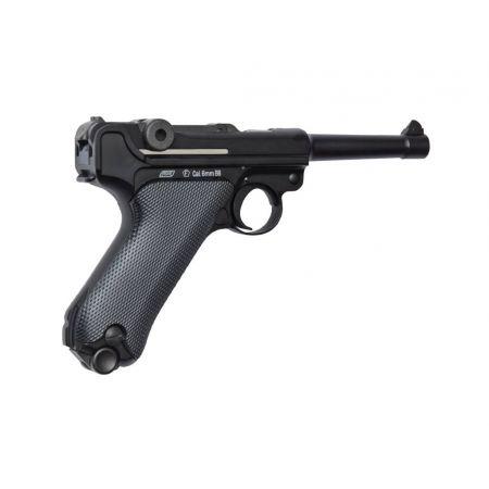 Pistolet Luger P08 GAZ Blowback Culasse Metal 16229