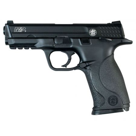 Pistolet M&P9 S&W Smith Wesson MP 9 Co2 Noir - Culasse Metal & Blowback - 320516