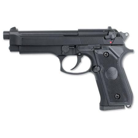 Pistolet M9 M92 Gaz GNB STTI ASG Noir - 11555