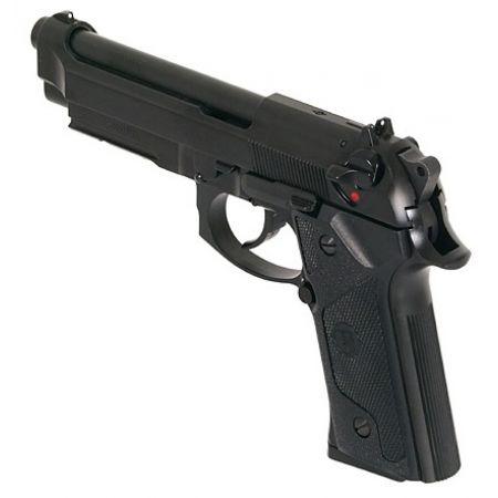 Pistolet M9 Vertec GBB Gaz Blowback - Noir