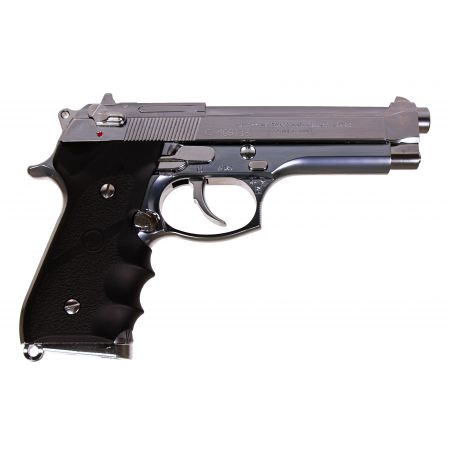 Pistolet M92F M9 Military Model GBB Gaz Tokyo Marui - Stainless