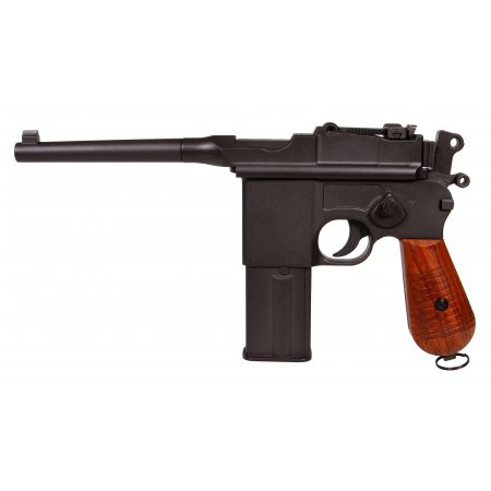 Pistolet Mauser M712 (C96) Co2 Blowback GBB KWC Full Metal - KCB-18DHN