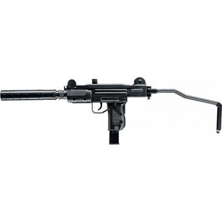 Pistolet Mitrailleur Mini UZI IWI Co2 Blowback 2 Joules + Silencieux 25969