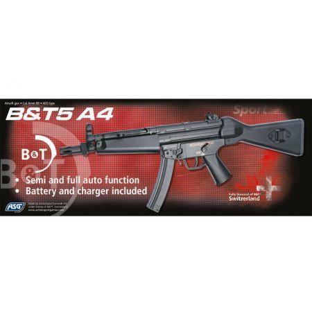 Pistolet Mitrailleur MP5A4 (MP5 A4) BT5 AEG Jing Gong ASG - 17561