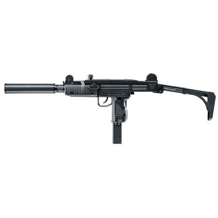 Pistolet Mitrailleur SMG IWI UZI SD Spring Umarex Noir - 25106