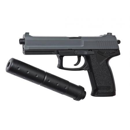 Pistolet MK23 Socom Spring Noir + Silencieux - 15918