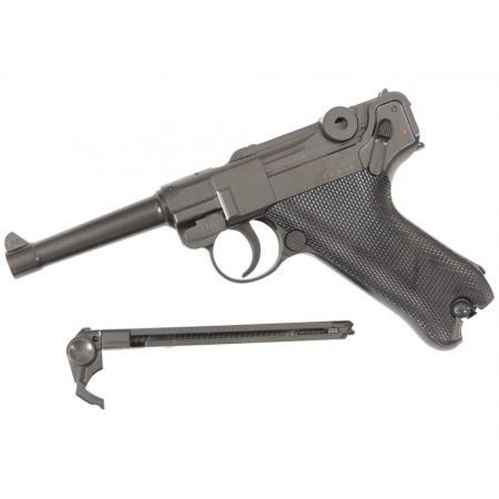 Pistolet Pistol Legends Luger P08 (P.08) 4 Pouces Co2 Full Metal - 2 Joules - 25874
