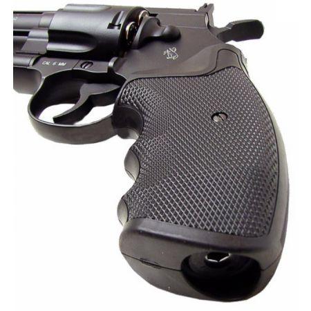 Pistolet Revolver Co2 Colt Pyhton Magnum 357 - Burst 3 Billes - 6 Pouces - 180316