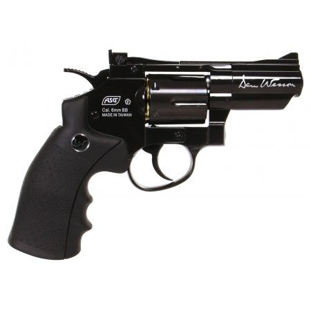Pistolet Revolver Dan Wesson 2.5 Noir Co2 Full Metal 17505