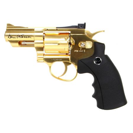 Pistolet Revolver Dan Wesson 2.5 Pouces Gold Or Full Metal - 17373