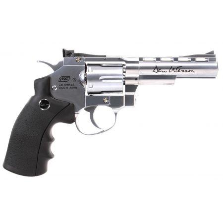 Pistolet Revolver Dan Wesson 4 Silver Co2 Full Metal 16181
