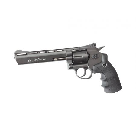 Pistolet Revolver Dan Wesson 6 Gris Co2 Full Metal 17478