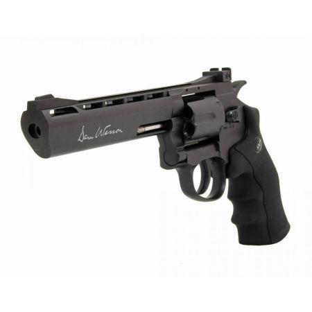Pistolet Revolver Dan Wesson 6 Gris Co2 Full Metal 17478