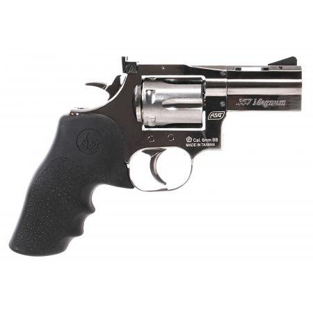 Pistolet Revolver Dan Wesson 715 357 Magnum 2.5 Pouces Silver Co2 18613