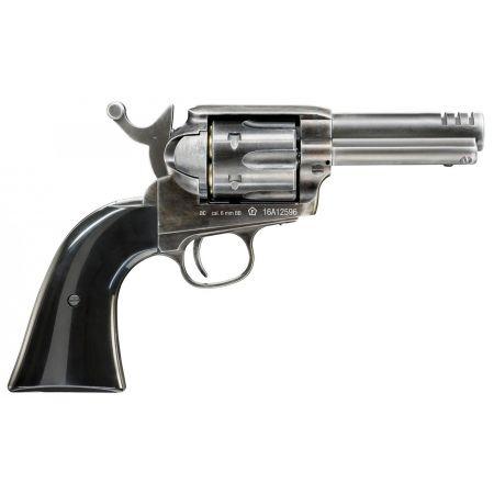 Pistolet Revolver Legends Custom .45 Co2 (26355) + Cible Metal + 10 Cibles Carton + 500 Billes Aluminium + 5 Cartouches Co2
