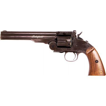 Pistolet Revolver Schofield 6 Pouce Co2 Full Metal 19303