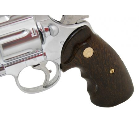 Pistolet Revolver Zastava R357 Gaz Chrome (11544) + Cible Metal + 10 Cibles Carton + 5000 Billes 0.20g + Bouteille de Gaz 600ml