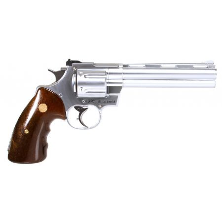 Pistolet Revolver Zastava R357 Gaz Chrome (R-357 Silver) ASG - 11544