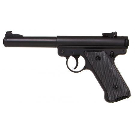 Pistolet Ruger MK1 KJW ASG Gaz (KJ Works) - Noir - 14728