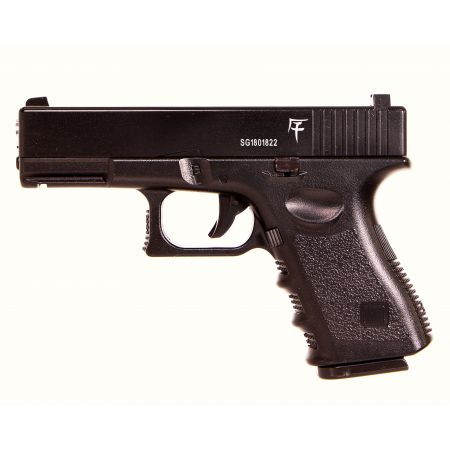 Pistolet Saigo 17 Type G19 Spring Saigo Defense Culasse Métal - Noir