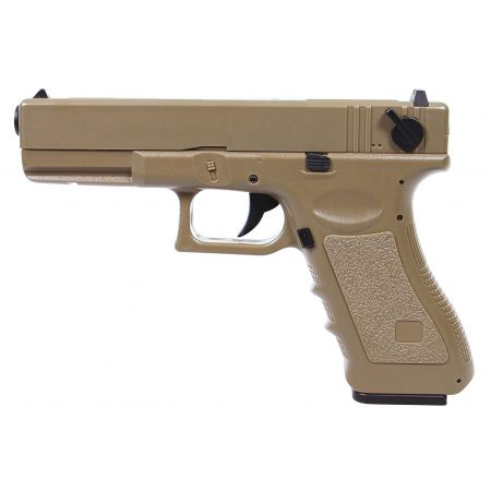 Pistolet Saigo 18 G18c CM030 Electrique AEP Saigo Defense - Tan