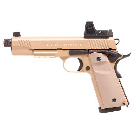 Pistolet Secutor 1911 Rudis VII Magna Co2 Tan - SAR0028