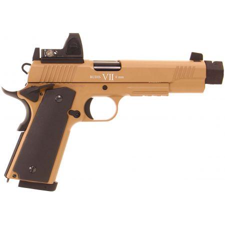 Pistolet Secutor 1911 Rudis VII Magna Custom Co2 GBB Full Metal - Tan