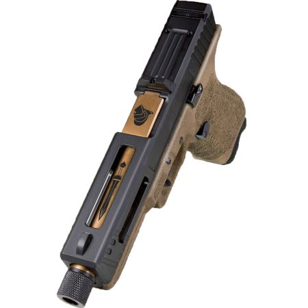 Pistolet Secutor G17 S17 Gladius Bronze Tan GBB Blowback Co2 Gaz - SAG0001
